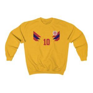 Colombia 1990 Soccer Jersey Sweatshirt