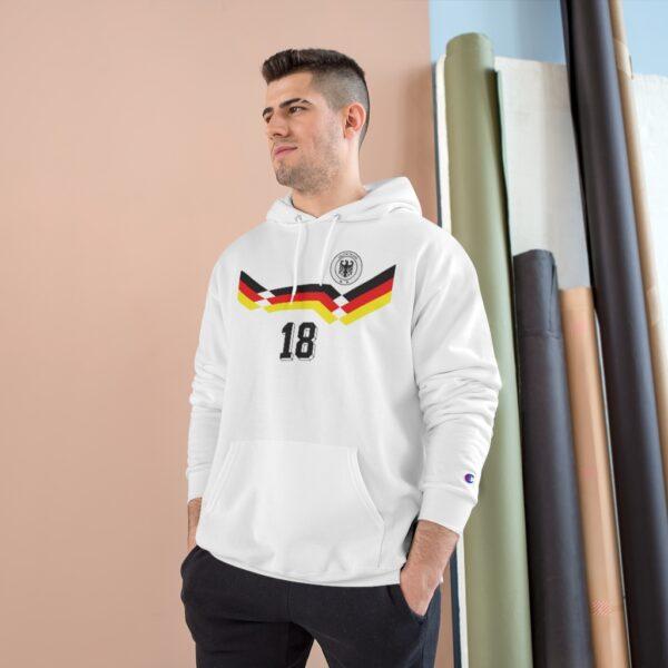 Retro 1990 Germany Soccer Champion Hoodie